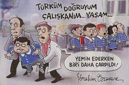 Başbakan Erdoğan'ın açıkladığı Demokratikleşme Paketi'nde ilkokul çocuklarının her sabah okuduğu Andımız da kaldırıldı.